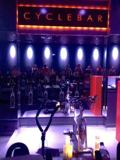 """The Gilded Wife Blog - #CycleBar  """"From my personal experience,I can say that I've attended one spinning  class in my life. The lighting was casual with low-volume music playing in  the background, while seated on the most uncomfortable bike. Halfway  through my (one and only) spinning class, I was done and ready to hang up  my spinning shoes."""" - Me    My view on the art of spinning has forever changed and no doubt for the better."""