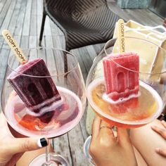 Better known as New York's downtown rooftop bar that serves ice pops in all of its alcoholic beverages, Loopy Doopy has snacks too, like charcuterie and cheese, salads, and olives.