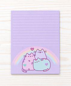 I'm Pusheen the Cat paperback Pastel Pusheen notepad Filofax, Cute Stationary, Stationary Design, Cute Office Supplies, Hello Kitty, Kawaii Room, Pusheen Cat, Pastel, Kawaii Stationery