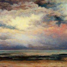L'immensité, Gustav Courbet, 1869