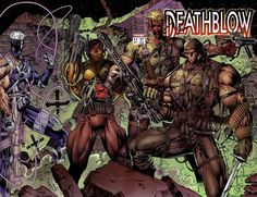 Deathblow and Team 7 by Jim Lee