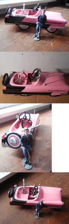 Pre-1970 726: Vignette Of 1994 Hallmark Kiddie Car 1956 Kidillac New - Plus Figure And 2 Guitar -> BUY IT NOW ONLY: $69.99 on eBay!