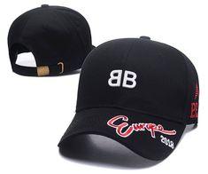9c9ba3185205 Balenciaga P.E.1.8 Caps   Hats Black