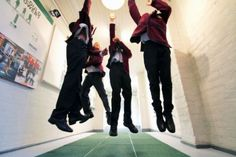 These Kids Help Power Their School by Jumping Up and Down the Hallway