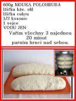 RECEPTY PARNÍ HRNEC | Mimibazar.cz Dairy, Food, Meals, Yemek, Eten