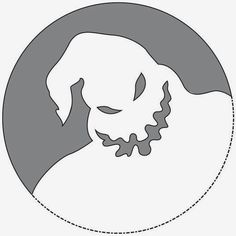 nightmare before christmas stencil jack - Google Search | Stencil ...