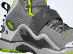 Under Armour Micro G Gridiron - Charcoal - Hyper Green