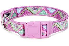 Designer ribbons collars and leashes with color matched buckles for your best friend. Available in toy, threw full size dogs. Puppy Collars, Dog Collars & Leashes, Collar And Leash, Dog Harness, Bandana, Puppies, Belt, Personalized Items, Dogs