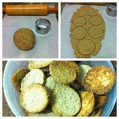 Receita Biscoito Amanteigado Integral