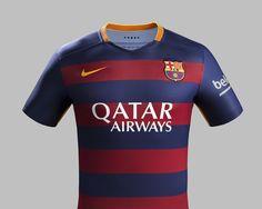 Barcelona 2015-16 Nike Home