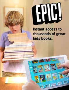 Epic! for the iPad - it's like a Netflix for kids' eBooks!