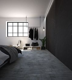 Bedroom Lamps Design, Black Bedroom Design, Bedroom Setup, Master Bedroom Interior, Home Room Design, Small Room Bedroom, Home Decor Bedroom, Minimalist Room, Apartment Interior
