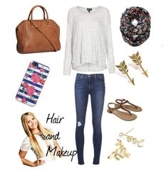 Fall Fashion by khurley6 on Polyvore featuring Topshop, J Brand, Merona, H&M, Lanvin, Jade Jagger, Jacquie Aiche and Betsey Johnson