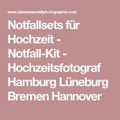 Notfallsets für Hochzeit - Notfall-Kit - Hochzeitsfotograf Hamburg Lüneburg Bremen Hannover