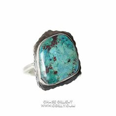 Speckled Turquoise Ring