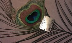 Rare Heart Shaped Peacock Feather Heart Shaped by CherylsGoodStuff, $5.00
