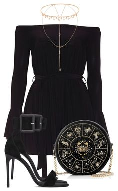Sem título #2378 by mariandradde on Polyvore featuring Yves Saint Laurent, Preciously, Suzanne Kalan and Jacquie Aiche