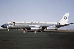 Um dos três Convair Coronado usados pela Varig em rotas internacionais na década…