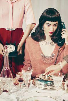 Cool Chic Style Fashion: Fashion Editorial   Vogue Italia   Glitter
