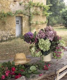 Courtyard of my dream French maison