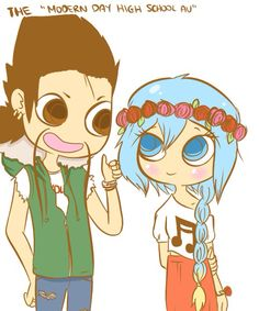 Sweet Draven x Sona *~* I dont know who this draw but probs to him.