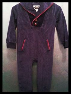 One piece velour lounger