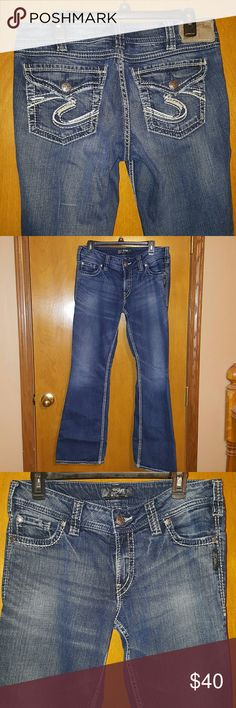 Women's Silver Jeans Suki Surplus