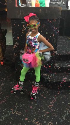 80s Theme Outfit For Girl