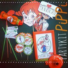 Ci prepariamo x una #festa di #compleanno di una bellissima bimba che adora PippiCalzeLunghe!!