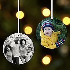 Picture Perfect Round Photo Ornament