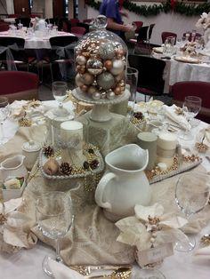 Christmas tablescape 2012