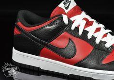 pick up 9b9f7 8e139 Nike Dunk Low - Varsity Red - Black + University Blue - Navy -  SneakerNews.com