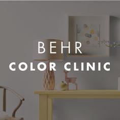 48 best behr color clinic images on pinterest behr colors colored rh pinterest com