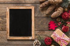 Photo frame near gift box, fir branches,. Christmas Mood, Christmas Balls, Christmas Photos, Holiday, Christmas Ribbon, Foto Frame, Christmas Lights Background, Free Frames, Stock Foto