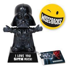 Funko Darth Vader: I Love You Sith Much http://popvinyl.net #funko #funkopop #popvinyls
