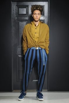 Gustav Von Aschenbach by Robert Geller Spring 2018 Men's Fashion Show, Men's Runway, Menswear Collections at TheImpression.com - Fashion news, street style
