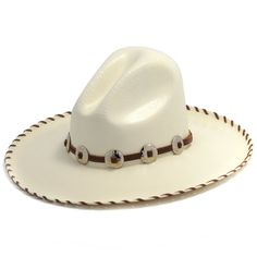 d4dd2c47b64 Rodeo King Gus Straw Hat with Whipstitched Rim at The Maverick Western Wear