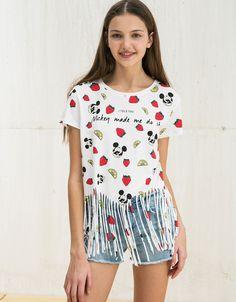 - T-shirts - Bershka Turkey