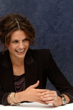 "#StanaKatic at a ""Castle"" press conference (2010)"