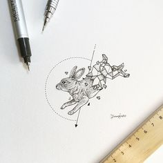 Rabbit | Geometric Beasts | Kerby Rosanes