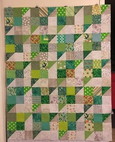 Finished!!! I decided to do my part towards the effort of making relief quilts for those affected by the Thomas Fire in California. The Perkiomen Valley Block pattern was suggested by the Ventura Mod