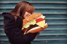 Burger cushion