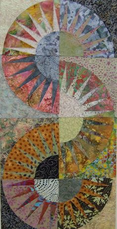 New York Beauty IV, 54 x 89cm, £155 New York Beauty, Collages, Mixed Media, Textiles, Quilts, Wall, Pictures, Color, Design