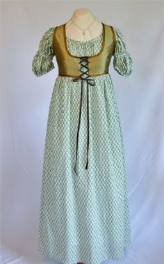regency gowns | The Story of a Seamstress: New Regency Dresses and Weskits