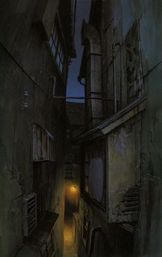 Spirited Away | Hayao Miyazaki | Studio Ghibli / Background Drawing