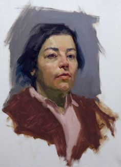 Linda-Sky Arts Portrait Artist of the Year 2014 Louis Smith Academic Drawing, Academic Art, Painting People, Figure Painting, Wet On Wet Painting, Louis Smith, Skyline Art, Roman Art, Portrait Sketches