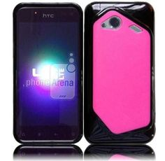 HTC Droid Incredible 4G LTE 6410 Fireball PC+ TPU Cover - Hot Pink+Black by cn. $7.99. This PC+TPU cover is specifically designed for your phone.   It will protect your phone from unwanted scratches.  Give your phone an extra edge by using this product.