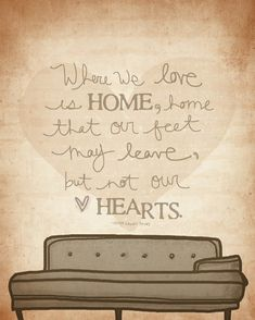 Where We Love Is Home by vol25 on Etsy