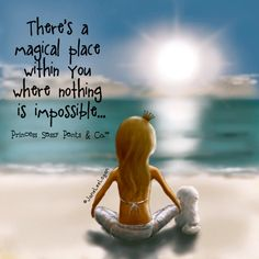 There is a magical place within you...
