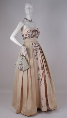 Ball gown, House of Worth, 1950's.